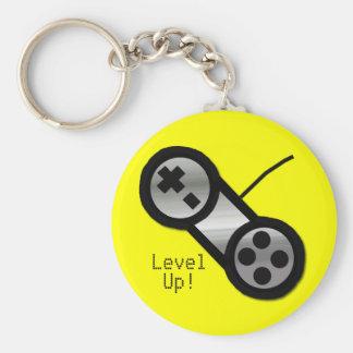 Yellow Level Up Keychain