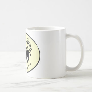 """Yellow """"Life Like Stuff"""" Brand Logo Mugs"""