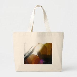 Yellow Light Large Tote Bag