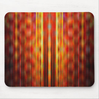 Yellow light streaks pattern mouse pad