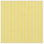 [ Thumbnail: Yellow & Light Yellow Colored Pattern of Stripes Fabric ]