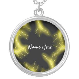 Yellow Lightning  Necklace