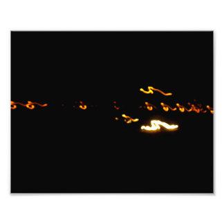 Yellow Lights Photographic Print
