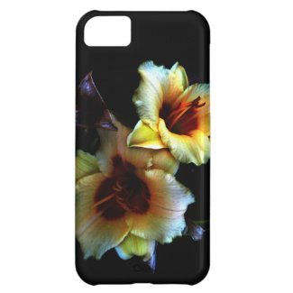 Yellow Lilies Glow iPhone 5C Covers