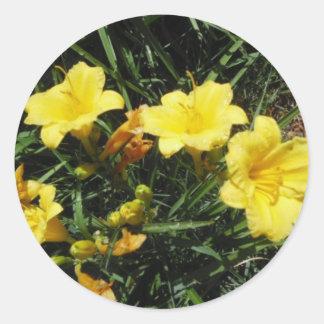 Yellow Lilies Sticker