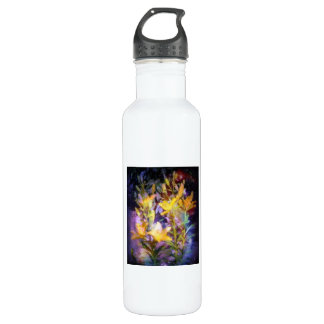 Yellow Lilies Water Bottle