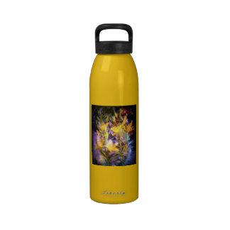 Yellow Lilies Water Bottle