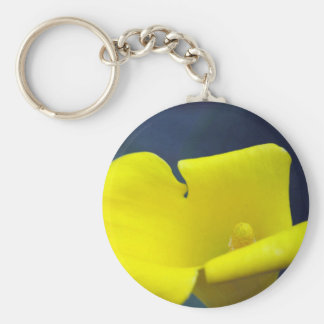 yellow Lilly Key Chains