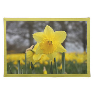 Yellow Lilly Placemat