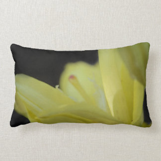 Yellow Lily by Shirley Taylor Lumbar Pillow