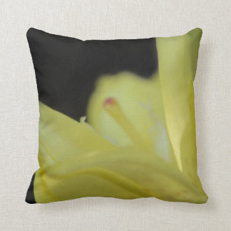 Yellow Lily by Shirley Taylor Throw Pillow