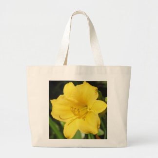 Yellow Lily Canvas Bag