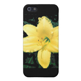Yellow Lily Cover For iPhone SE/5/5s