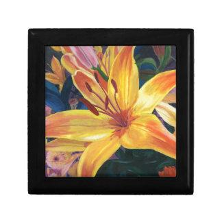 Yellow Lily Gift Box