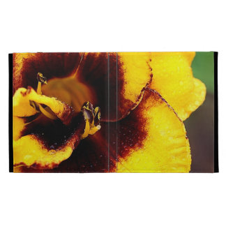 Yellow Lily ipad Cases