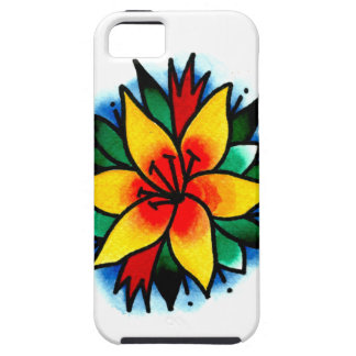 Yellow Lily iPhone SE/5/5s Case