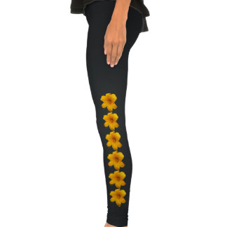 Yellow Lily Leggings