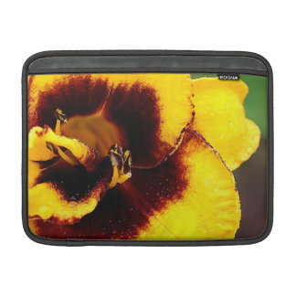 Yellow Lily MacBook Air Sleeve