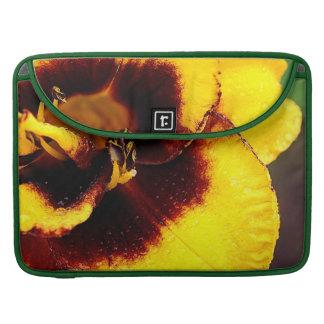 Yellow Lily MacBook Pro Sleeve