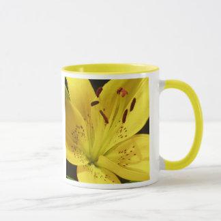 Yellow Lily Mug
