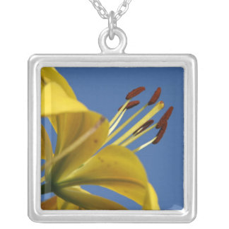 Yellow Lily Necklace