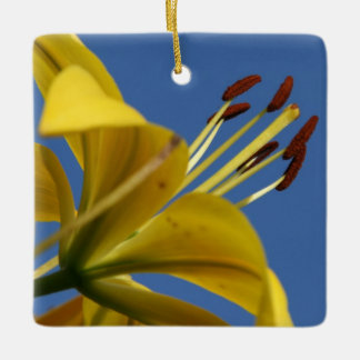 Yellow Lily Ornament