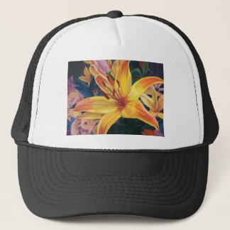 Yellow Lily Trucker Hat