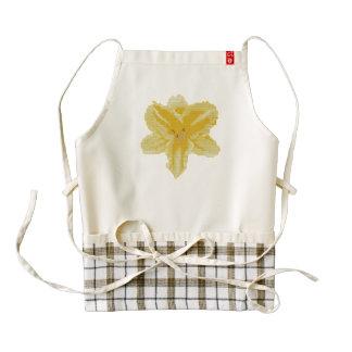 Yellow Lily Zazzle HEART Apron