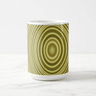 Yellow Line Pattern Mug
