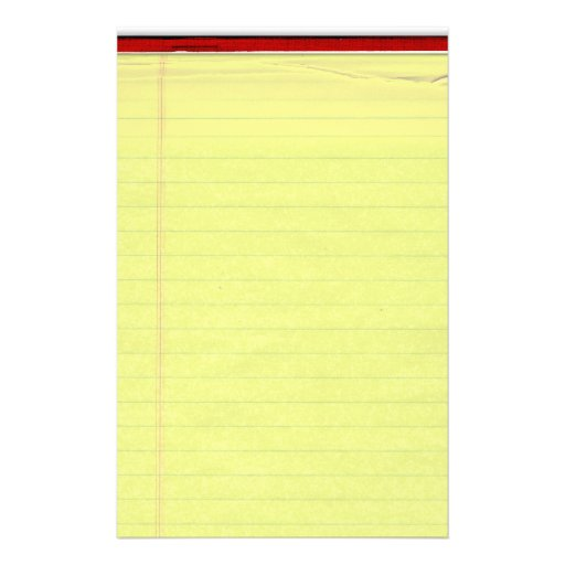 Yellow Lined Paper Background Yellow lined school paper