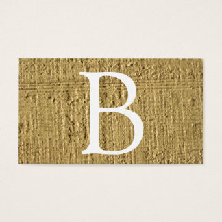 Yellow Lines Business Card