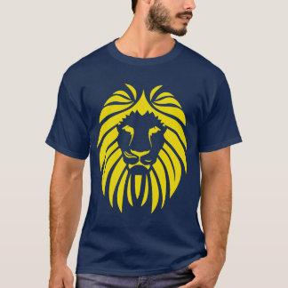 Yellow Lion Tribal Silhouette T-Shirt