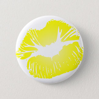 Yellow Lips Button
