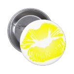 Yellow Lips Pins