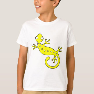 Yellow lizard artistic animated illustration T-Shirt