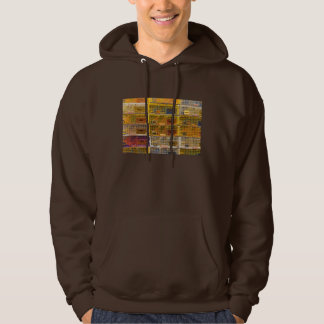 Yellow Lobster Traps In Maine Hooded Pullover