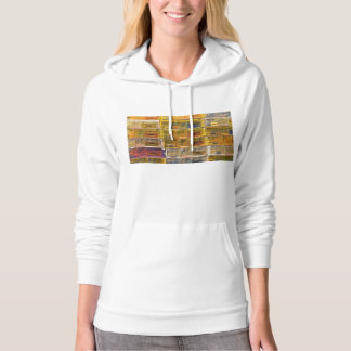 Yellow Lobster Traps In Maine Hooded Pullovers