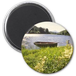 yellow Loch Ard, Trossachs flowers Magnet