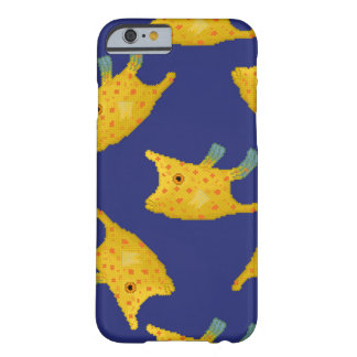 Yellow Longhorn fish Barely There iPhone 6 Case