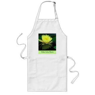 Yellow Lotus Flower Apron
