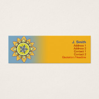 Yellow Lotus Profile Cards