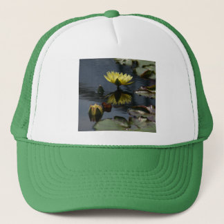 Yellow Lotus Waterlilies Hat