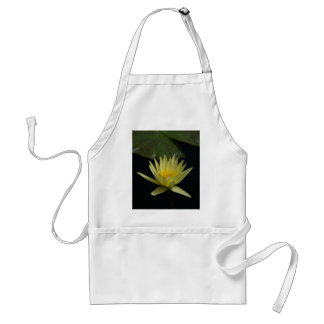 Yellow Lotus Waterlily Adult Apron