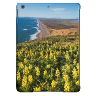 Yellow Lupine Above Point Reyes Beach At Point iPad Air Covers