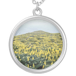 Yellow Lupine And Pacific, Tomales Point flowers Jewelry