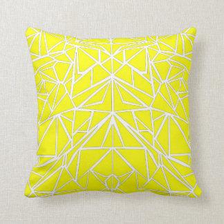 Yellow Machaon Throw Pillow