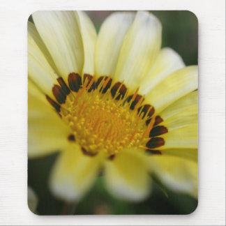 Yellow macro flower photography mousepad gift