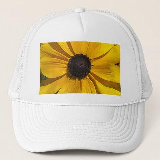Yellow Macro Trucker Hat