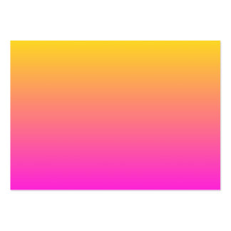Yellow Magenta Gradient Business Cards