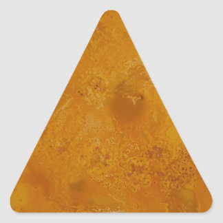 Yellow Marble collection Triangle Sticker